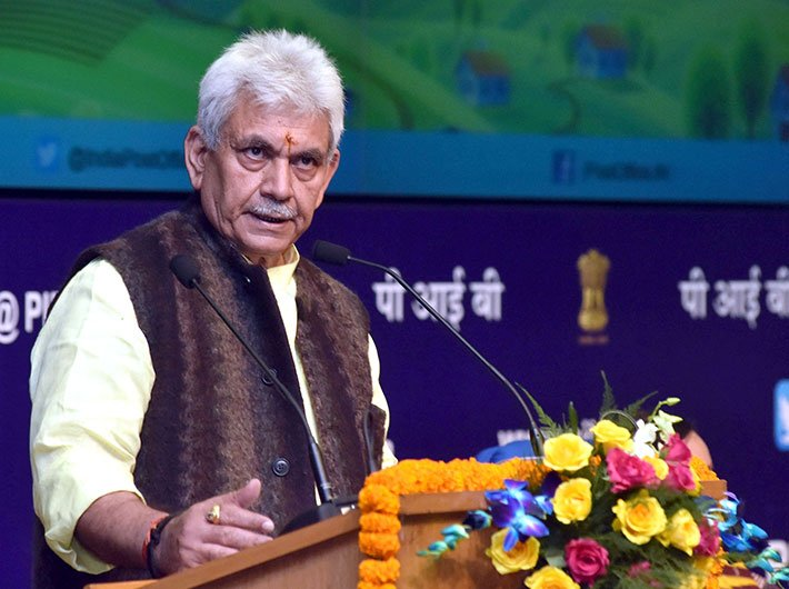 Minister of communications, Manoj Sinha