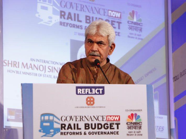 Railways to focus on safety: Manoj Sinha