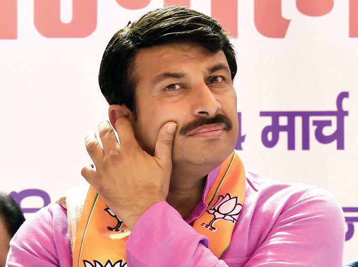 File photo of Manoj Tiwari