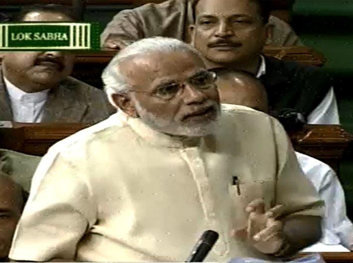 Modi quotes Rajiv, Somnath