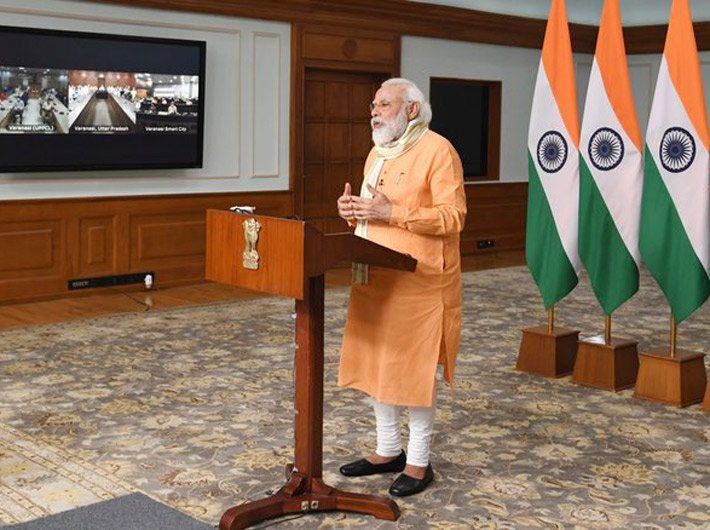 Also on Thursday, the PM addressed a virtual meeting with NGOs and representatives of Varanasi, his parliamentary constituency.