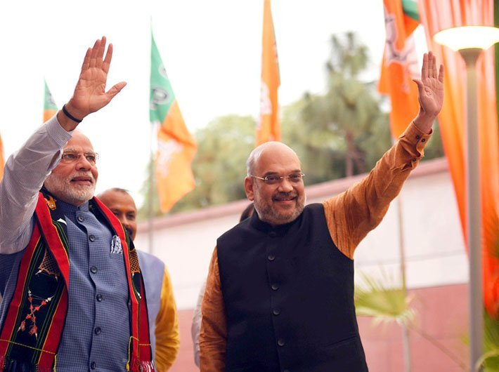 Amit Shah: Congress' priority is