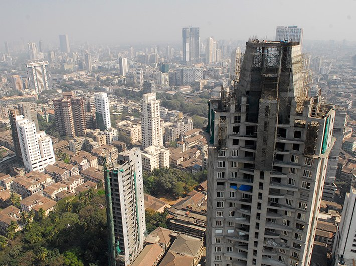 Declining tree cover and more concrete means Mumbai is storing and radiating more heat