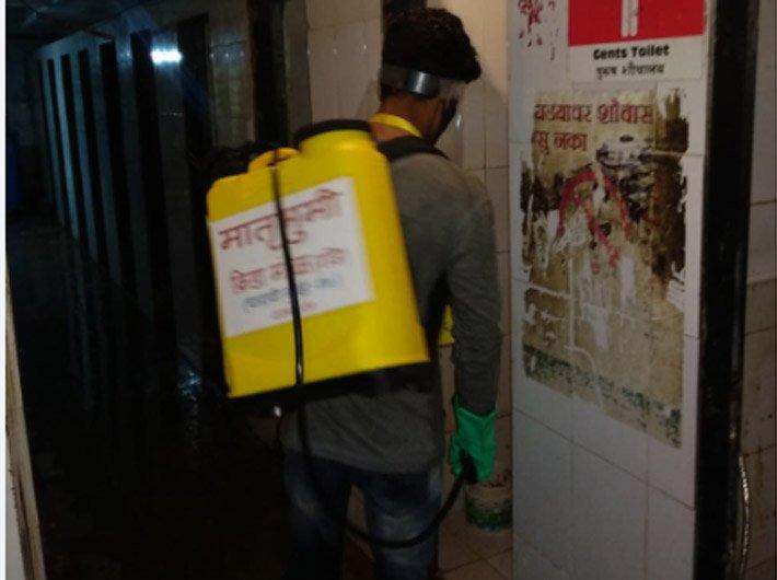 """Corona warriors to """"flush the virus"""" in Mumbai"""