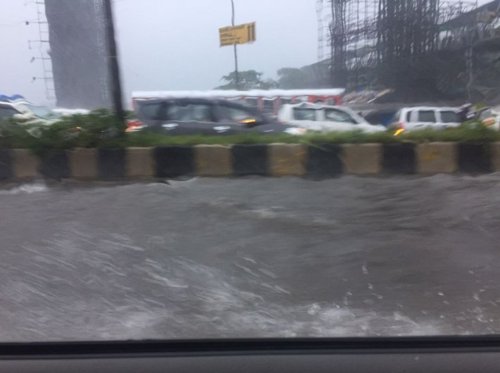 Mumbai often faces exceptional floods, and such incidents are rising in frequency. (File photo: Geetanjali Minhas)