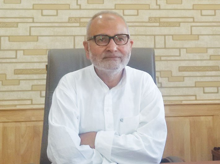 Mehbooba Mufti's close political aide and education minister Naeem Akhtar
