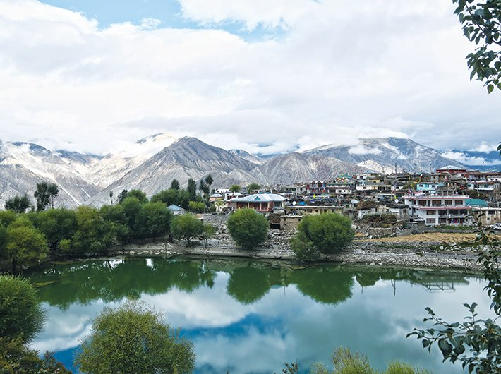 Nako lake in Himachal Pradesh: a tourist destination