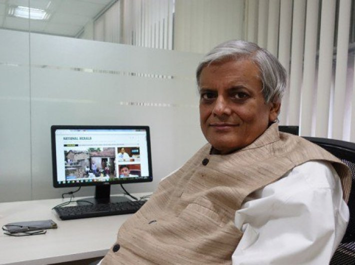 Neelabh Mishra. Photo Courtesy: National Herald