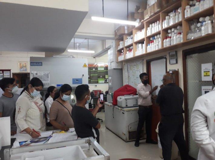 A gene sequencing workshop at NEERI, Nagpur (Photo courtesy: PATH)