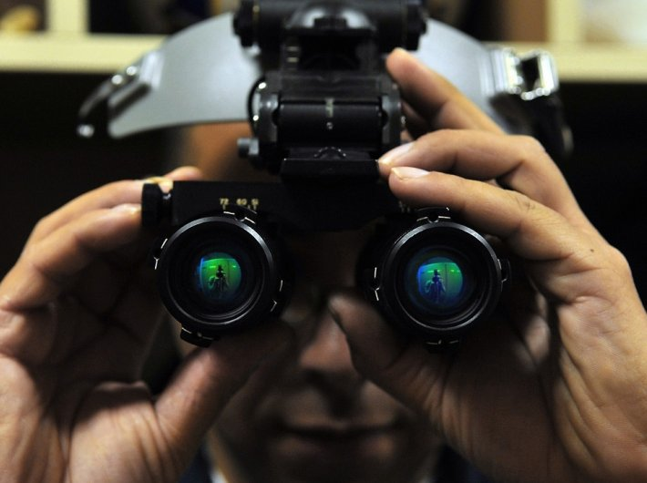 Night vision device (Representational image)