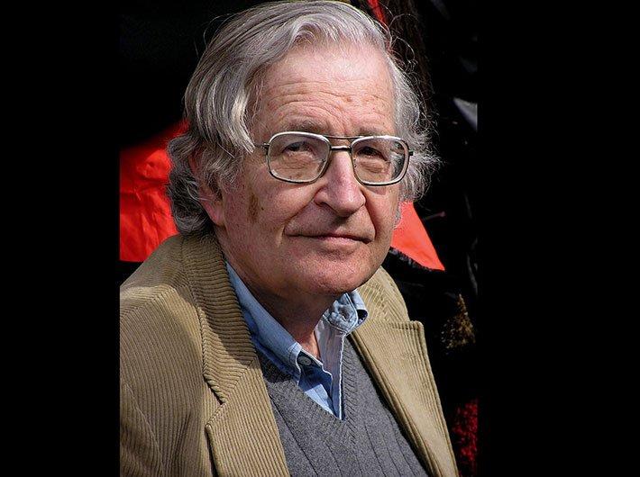 Noam Chomsky. (Source: Wikipedia Commons)