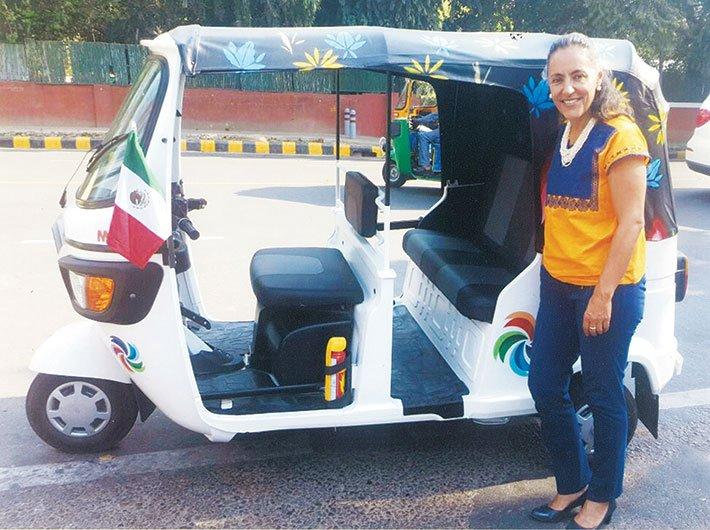Melba Pría, Mexico's Ambassador to India