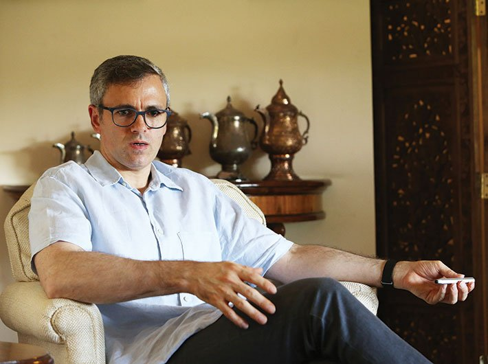 Omar Abdullah, leader, National Conference