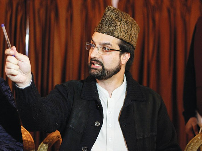 Mirwaiz Moulvi Umer Farooq, chairman, All Parties Hurriyat Conference (M)