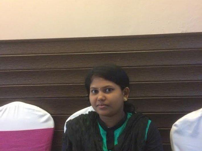 Diptimayee Pal who resisted child marriage. (Photo: Pradeep Baisakh)