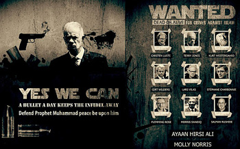 This is an image taken from the 2013 edition of al-Qaeda`s Inspire magazine, showing that Charb was on the terror group`s `most wanted` list.