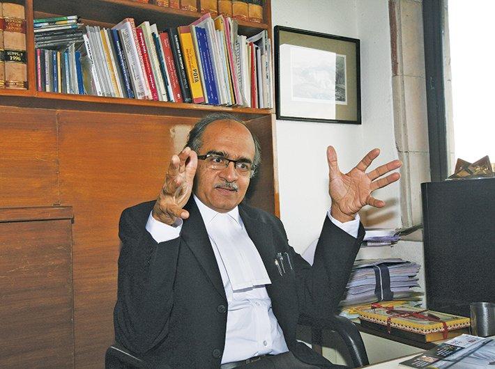 Prashant Bhushan, supreme court advocate and activist