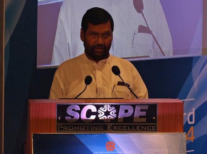 Ram Vilas Paswan, union minister for consumer affairs, food and public distribution