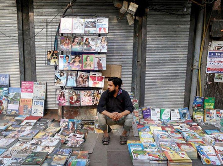 Daryaganj Sunday book market: Second-hand joys