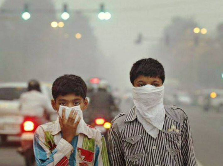 Air in most Indian cities hazardous