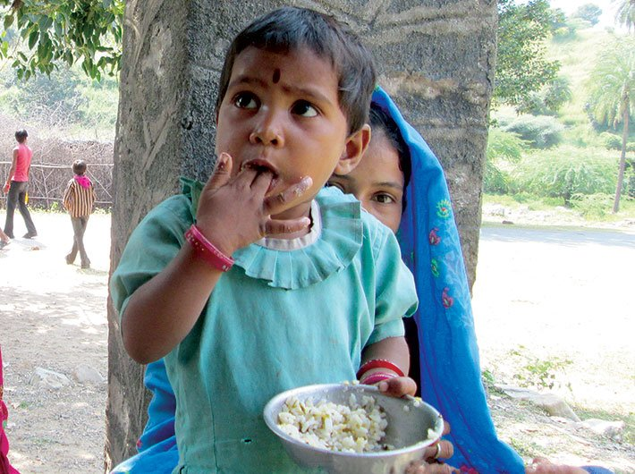 India still to go a long way in achieving global nutrition