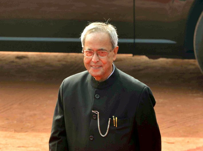 Disruptions in parliament amount to gagging majority: Pranab Mukherjee