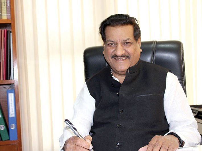 Senior Congress leader and former Maharashtra chief ministrer Prithviraj Chavan (Photo: GN)