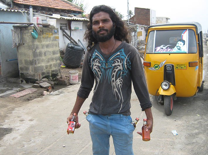 Karthik, a Chennai resident, says that as liquor sale time is reduced by two hours, he is forced to buy illicit liquor and that too at double the price