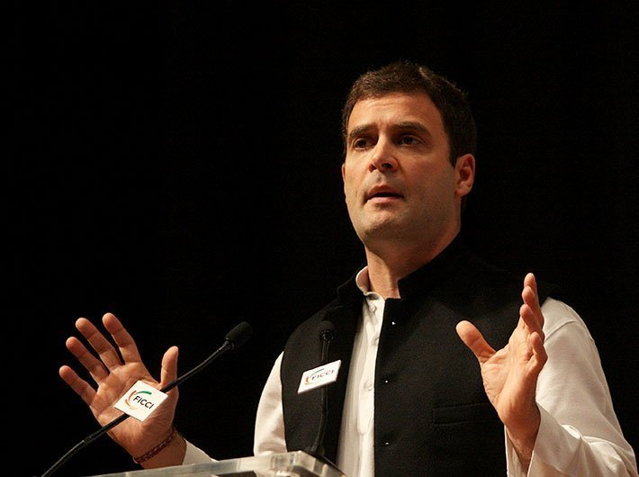 Rahul's messianic words don't match dirty deeds of politics