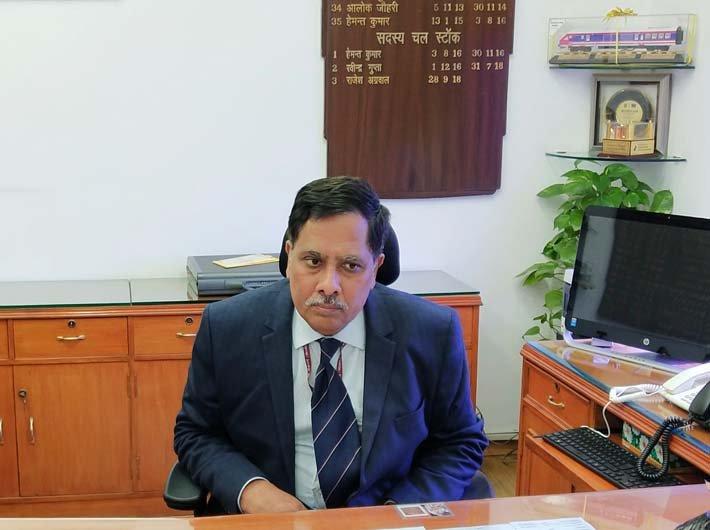 Railway board member (rolling stock) Rajesh Agrawal