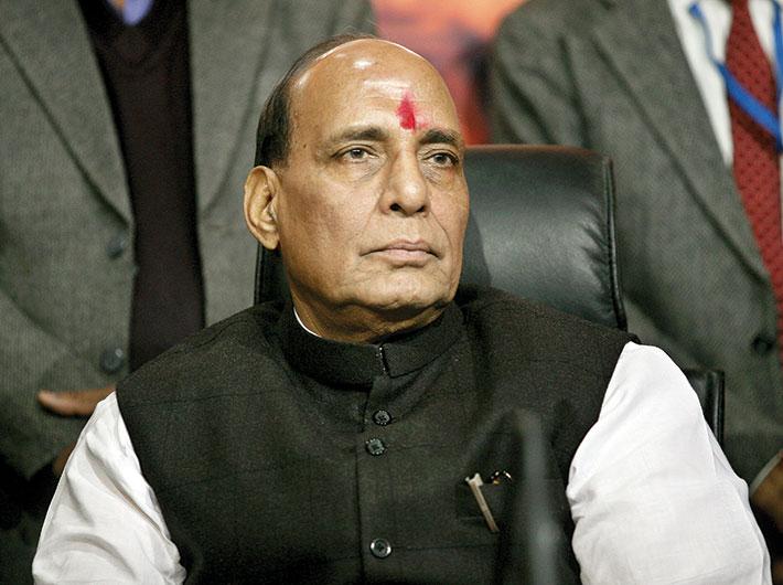 BJP leader Rajnath Singh
