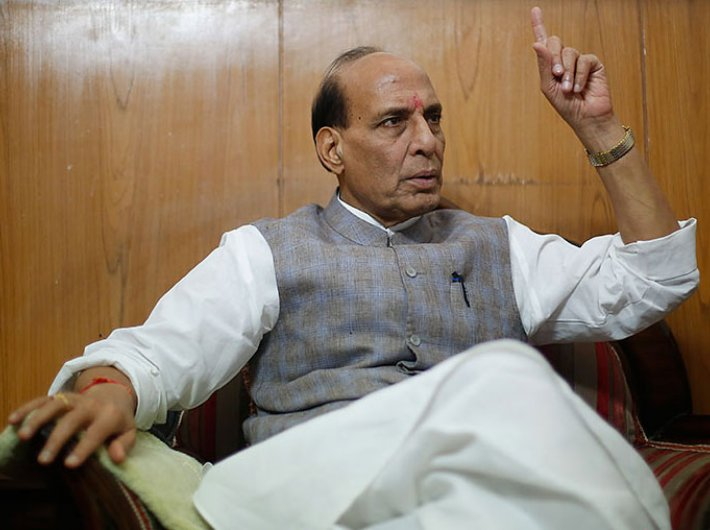 Top priority is to bolster morale of the police force, says union home minister Rajnath Singh.