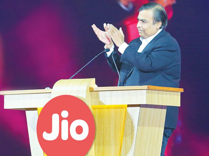 Mukesh Ambani, chairman and MD, RIL, at the company's AGM in Mumbai