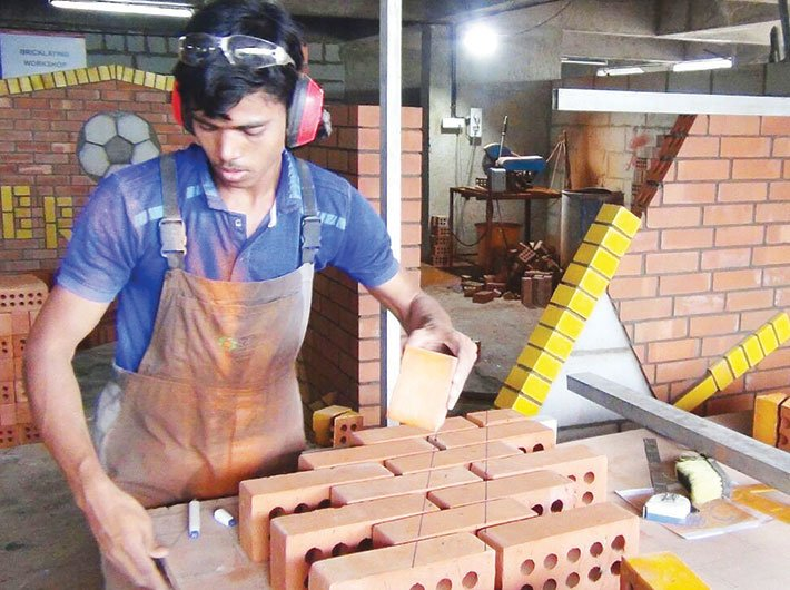 Rohim Momin practising in Pune for the Worldskills Abu Dhabi contest. (Photo: Parshuram Naik)