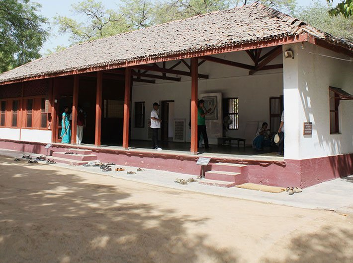 Sabarmati Ashram which is one of the sites of Saytagrah during freedom struggle of India