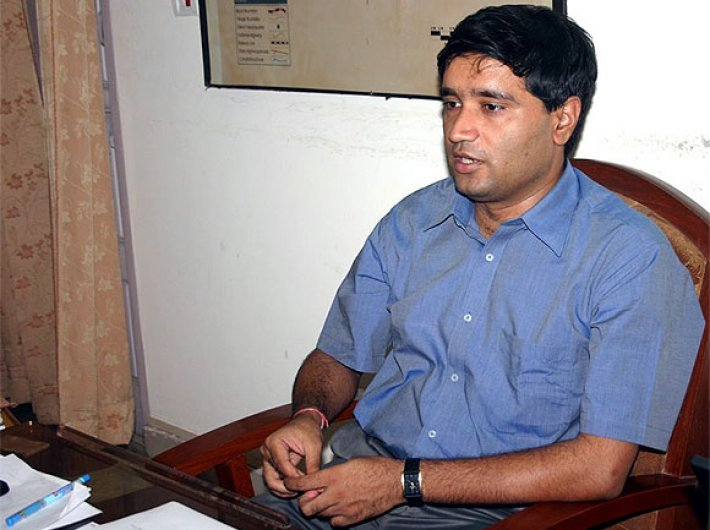 Sanjiv Chaturvedi, conservator of forest (research), Haldwani, Uttarakhand
