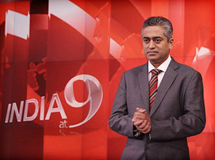Ratings for 'India at 9', Sardesai's signature show, have increased by 13% post-elections, compared to pre-election time.