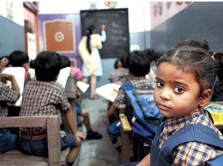 The last time children went to school was in the happy pre-Covid period. (File photo: Governance Now)
