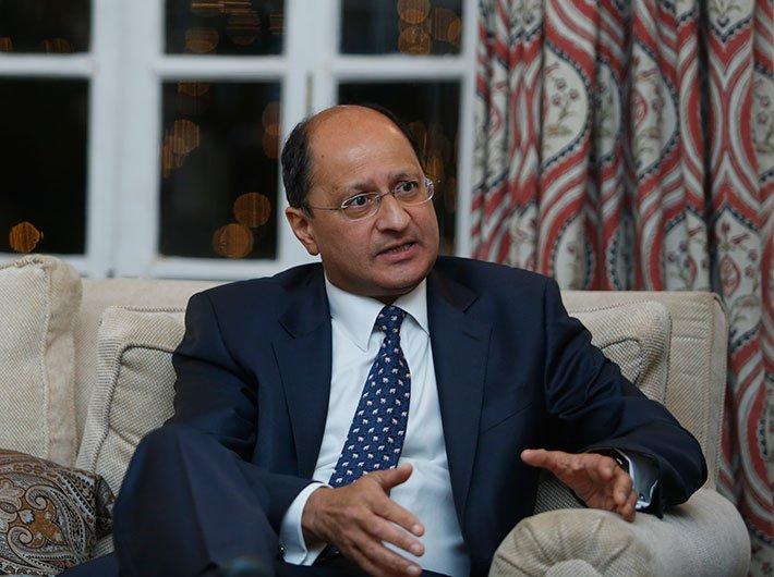 UK law minister Shailesh Vara