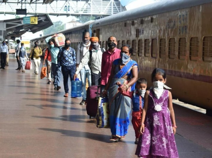 3,543 'Shramik Special' trains transport 48 lakh people in 26 days