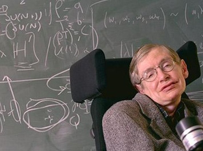 Stephen Hawking (Photo: www.hawking.org.uk)