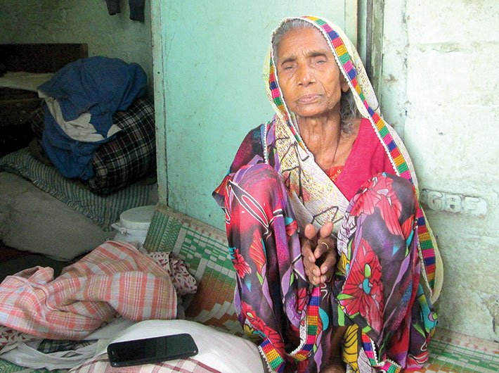 Sumitra Devi, 73, was denied pension for years