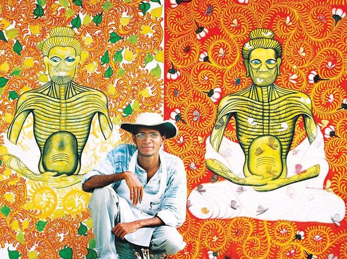 Artist Suresh K Nair