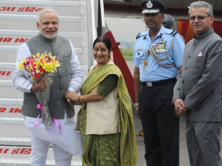 External affairs minister Sushma Swaraj says India`s image has grown almost overnight under prime minister Narendra Modi.