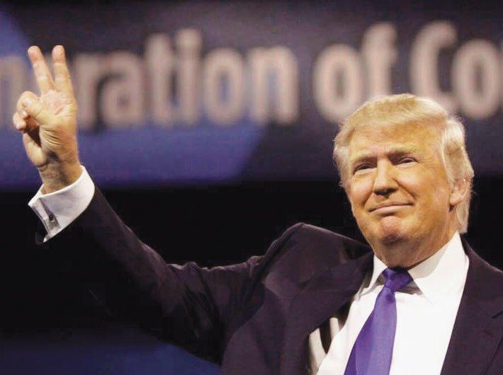 Donald Trump, president, USA