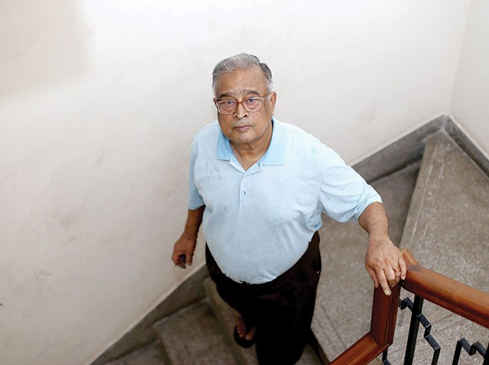TSR Subramanian (Photo: Arun Kumar)