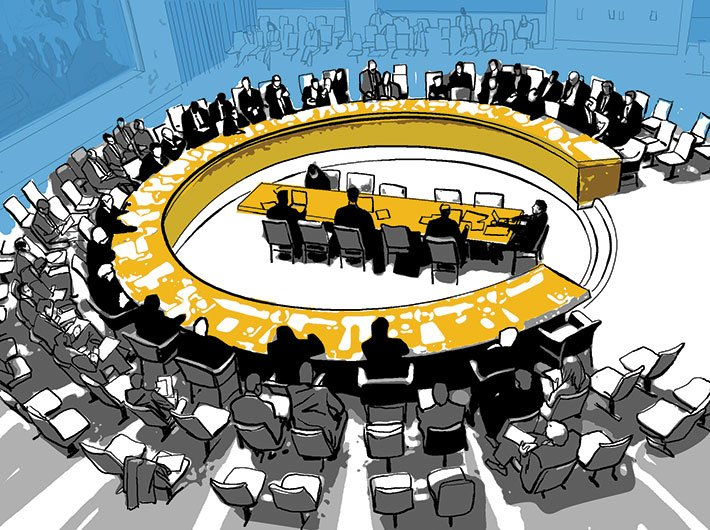 Though the UN was primarily supposed to be concerned with defence and security, it has since taken up roles far beyond its original mandate to become an unwieldy structure with 193 member-states.