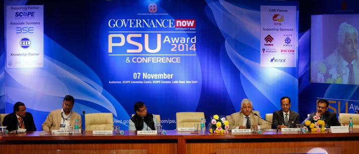 (From left to right) M Narendra, RG Rajan, UD Choubey, Ajay Dua, RK Tyagi, Kishalaya Bhattacharya