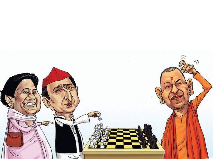 BJP suffers from by-poll jinx ahead of 2019 (Illustration: Ashish Asthana)