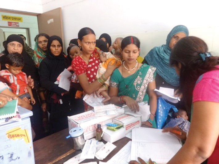 Immunisation drive being carried out under the aegis of health ministry